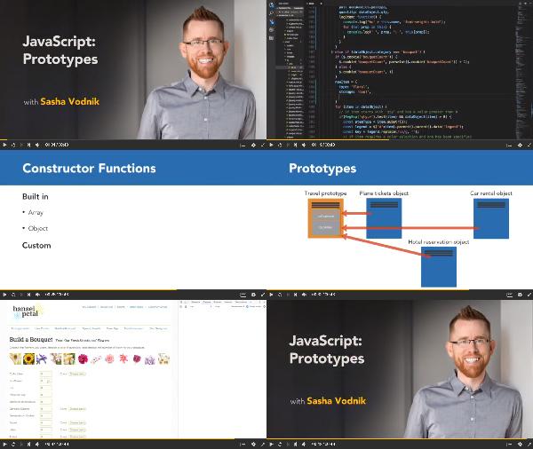 JavaScript: Prototypes center
