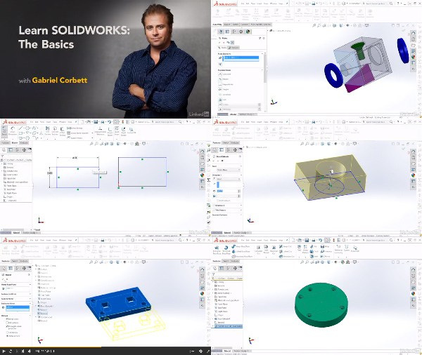 Learn SOLIDWORKS: The Basics center