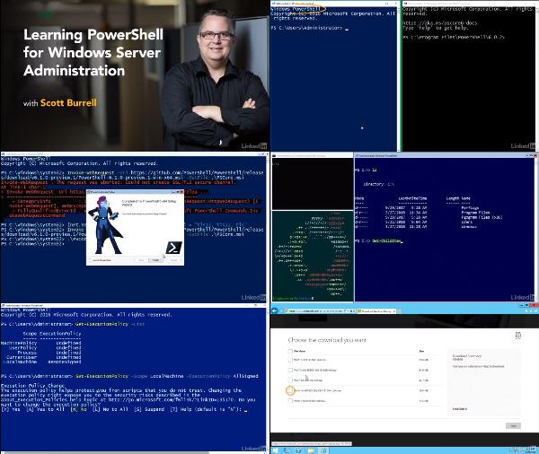 Learning PowerShell for Windows Server Administration center