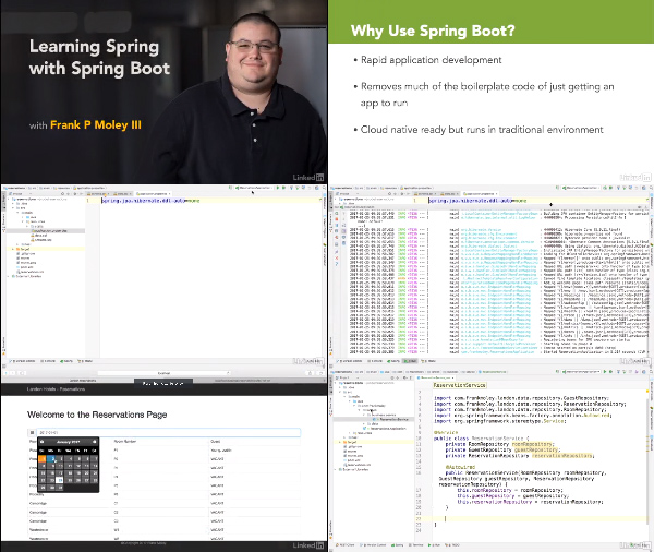 Learning Spring with Spring Boot center