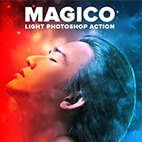 Magico Light Photoshop Action logo