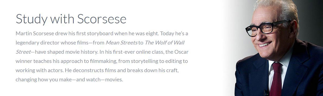 MasterClass - Martin Scorsese Teaches Filmmaking - screen