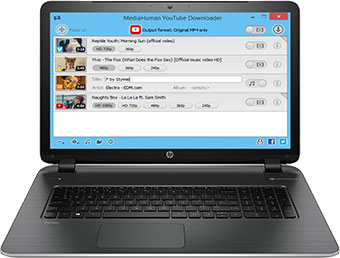 MediaHuman YouTube Downloader - screen