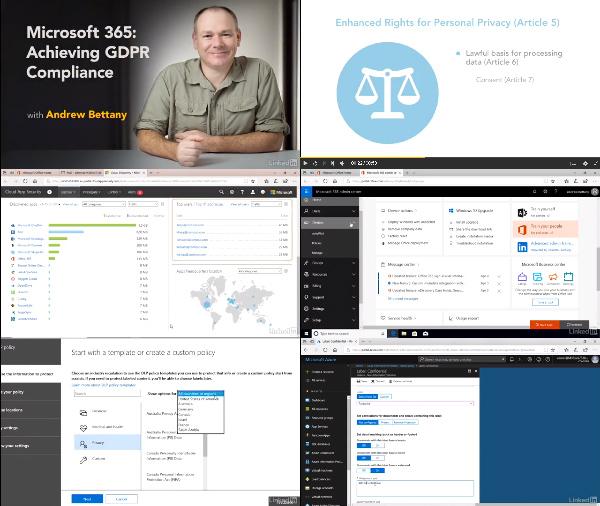 Microsoft 365: Achieving GDPR Compliance center