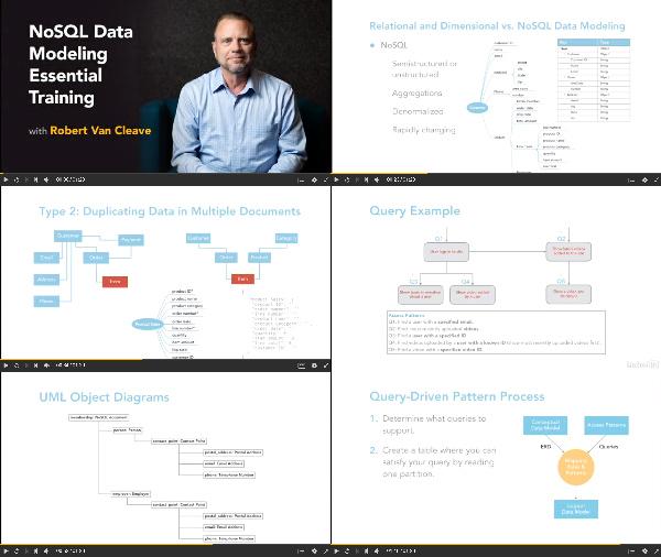 NoSQL Data Modeling Essential Training center