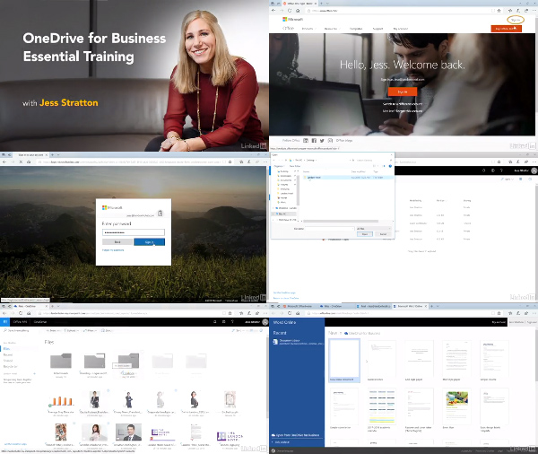OneDrive for Business Essential Training center