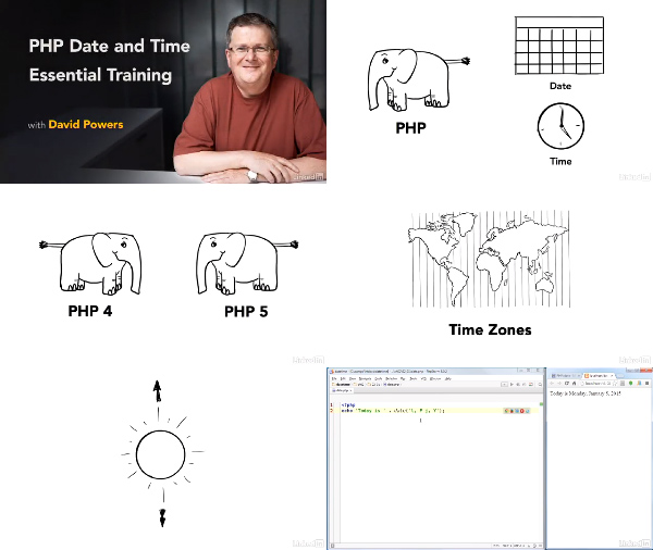 PHP Date and Time Essential Training center