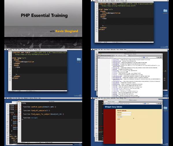 PHP Essential Training center