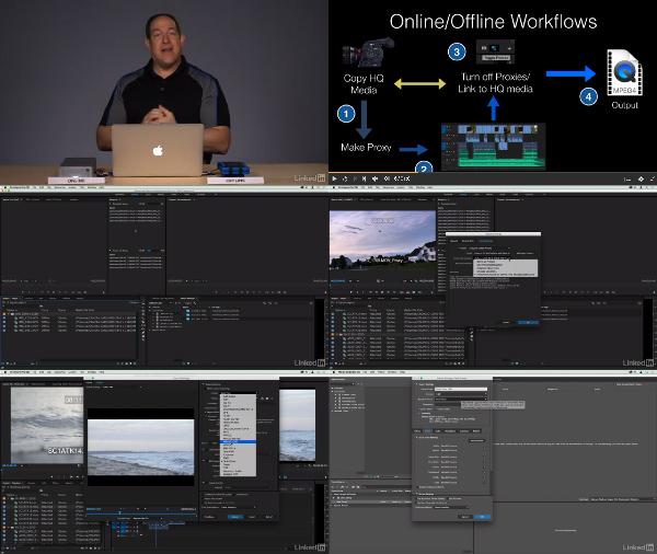 Premiere Pro Guru: Online and Offline Workflows center