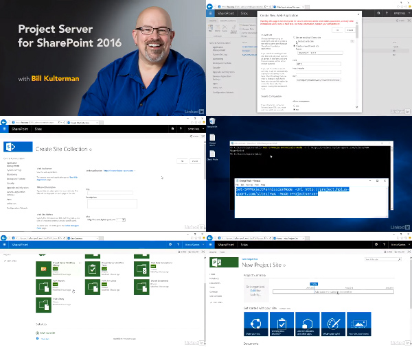 Project Server for SharePoint 2016 center