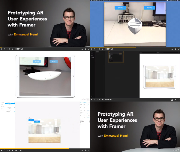 Prototyping AR User Experiences with Framer center