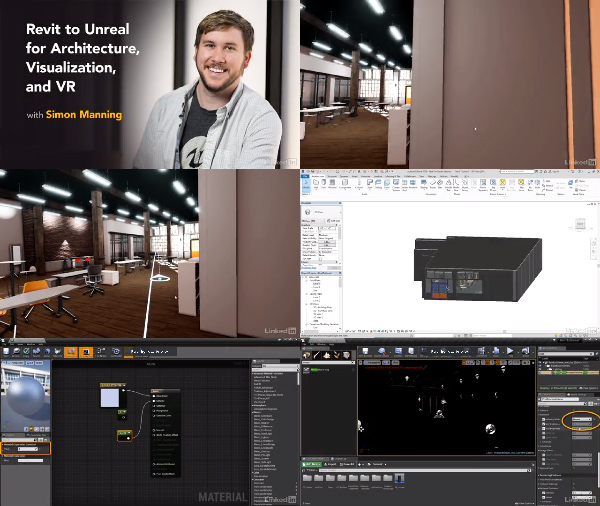 Revit to Unreal for Architecture, Visualization, and VR center