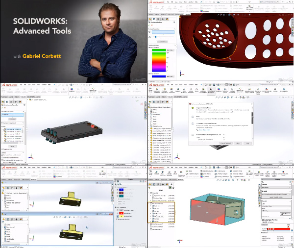 SOLIDWORKS: Advanced Tools center