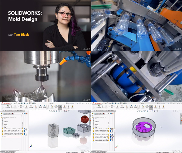 SOLIDWORKS: Mold Design center