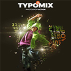 TypoMix 2 Photoshop Action logo