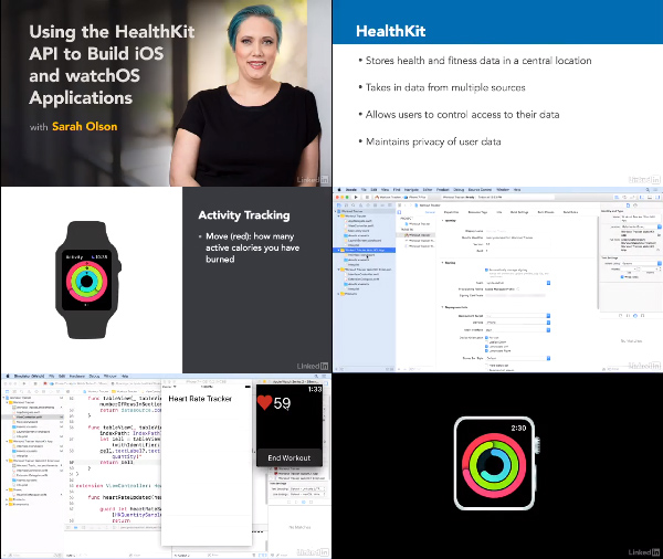 Using the HealthKit API to Build iOS and watchOS Applications center
