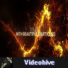 Videohive Abstract Particles Titles Trailer logo