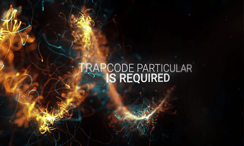 Videohive Abstract Particles Titles Trailer center