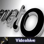 Videohive Black Classic 3D Logo logo