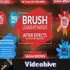 Videohive Brush Lower Thirds logo