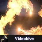 Videohive Fire Dance Logo Reveal logo