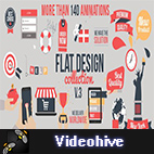 Videohive Flat Design v3 logo