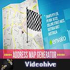 Videohive Map logo