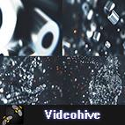 Videohive Metalic Particles Logo logo