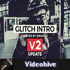 Videohive Modern Glitch Intro logo