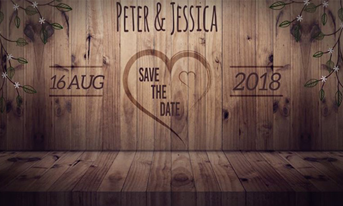 Videohive Save the Date center
