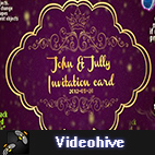 Videohive Vintage Invitation Card logo