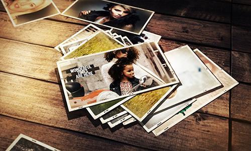 Videohive Wonderful Memories Photo Slideshow center
