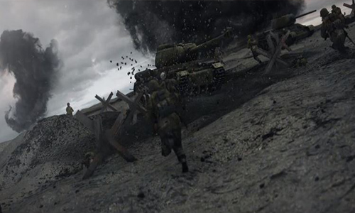 Videohive World War Broadcast Package Vol.2 center