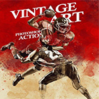 Vintage Art Photoshop Action logo