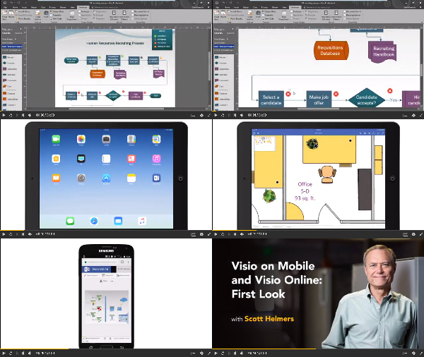 Visio on Mobile and Visio Online: First Look center