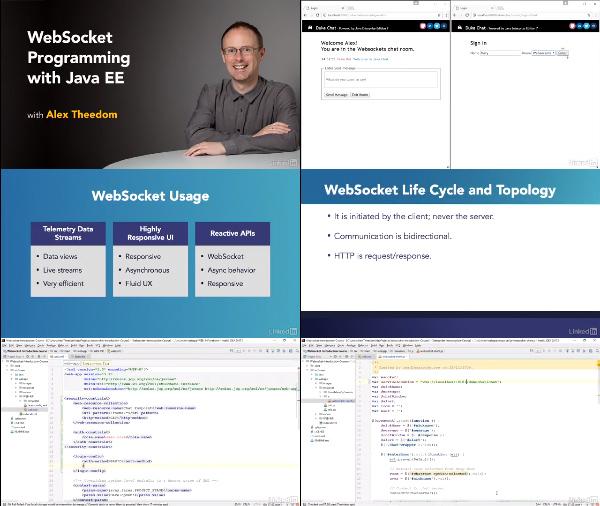 WebSocket Programming with Java EE center