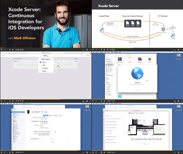 Xcode Server: Continuous Integration for iOS Developers center
