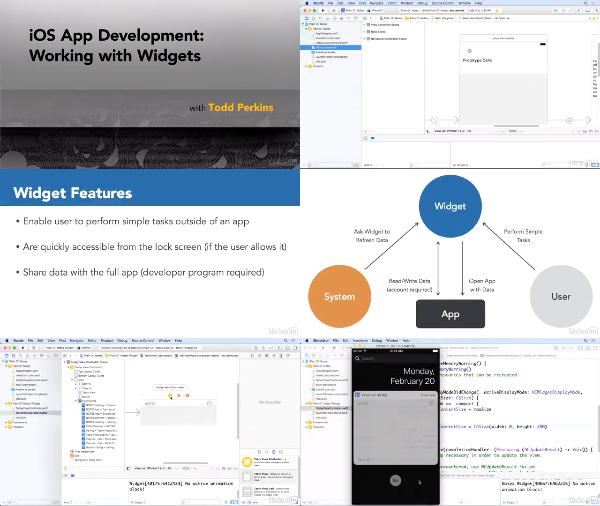 iOS App Development: Working with Widgets center