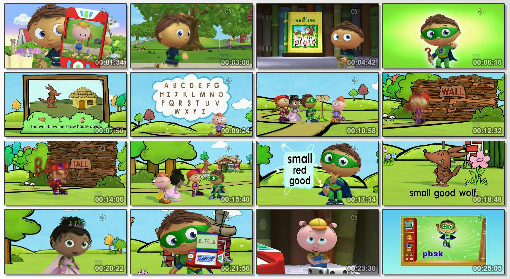 super why - screen