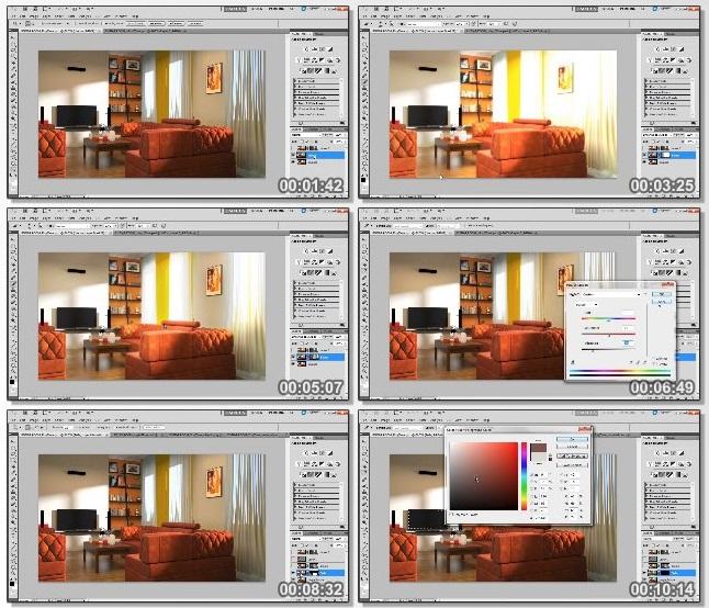 دانلود فیلم آموزشی Rendering Interiors in 3ds Max and Maxwell Render