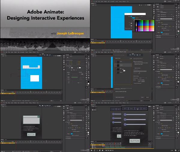 Adobe Animate: Designing Interactive Experiences center
