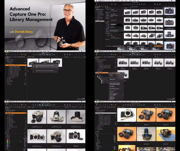 Advanced Capture One Pro: Library Management center