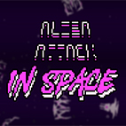 Alien Attack In Space Icon