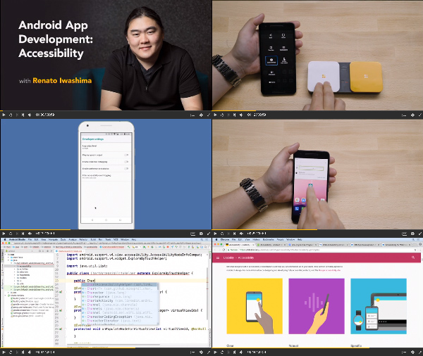 Android App Development: Accessibility center