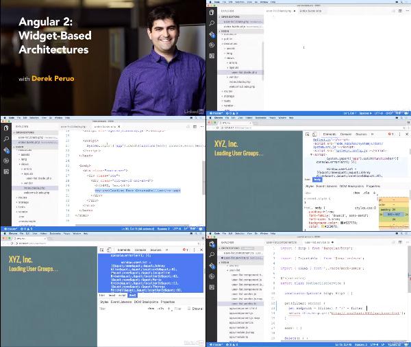 Angular 2: Widget-Based Architectures center