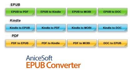 AniceSoft EPUB Converter center