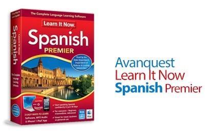 Avanquest Learn It Now Spanish Premier center