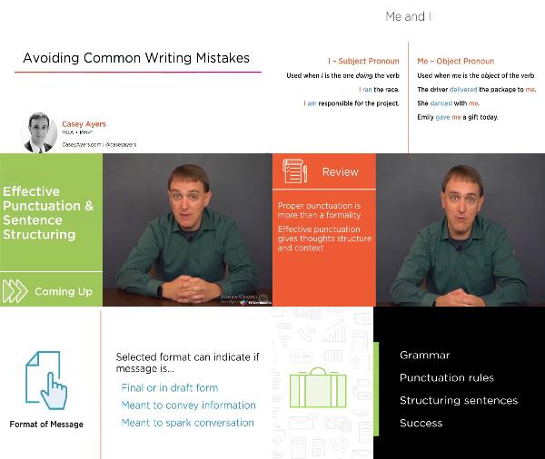 Avoiding Common Writing Mistakes center