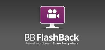BB FlashBack - screen