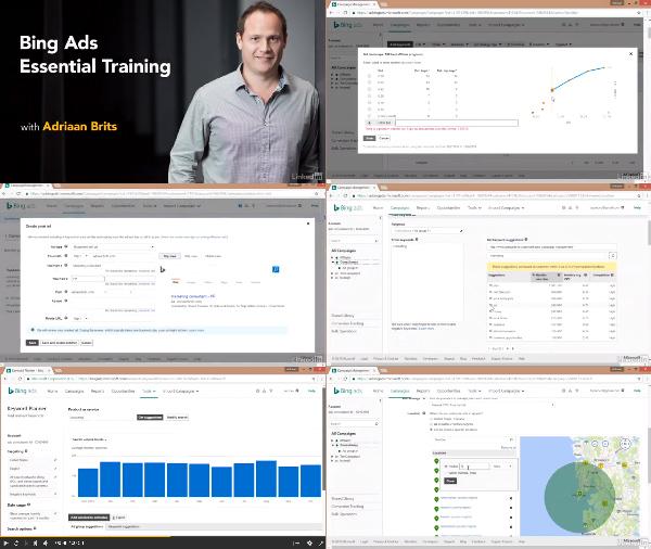 Bing Ads Essential Training center